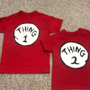 Other - Thing 1 & 2 shirts